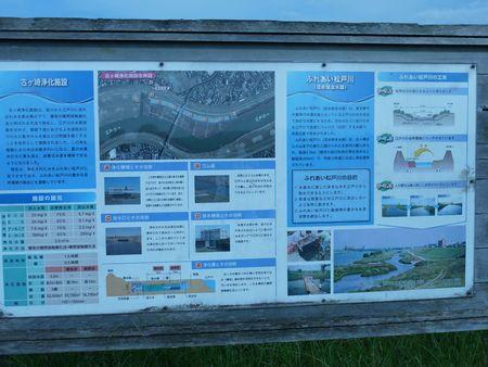 古ヶ崎浄化機場周辺