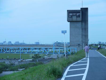 松戸排水機場1