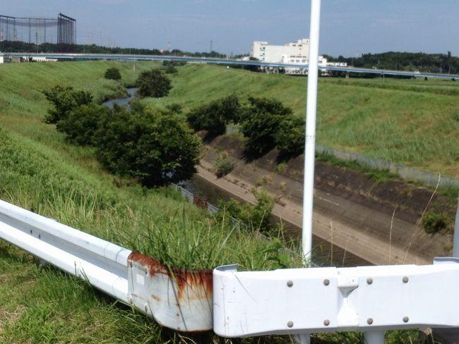 江戸川 運河・東武線間