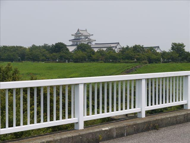 炎天下の中、自転車で全・江戸川 関宿城から東京湾まで
