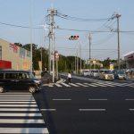 6月8日に国道6号線の二ツ木交差点にできた新しい道路がどこにつながってるか自転車で行ってきた