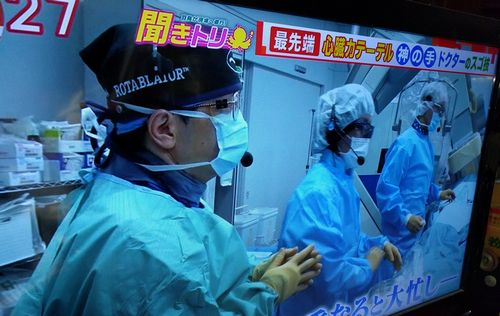 千葉西総合病院の心臓カテーテル治療の名医 三角和雄医師が羽鳥慎一モーニングショーで紹介されました