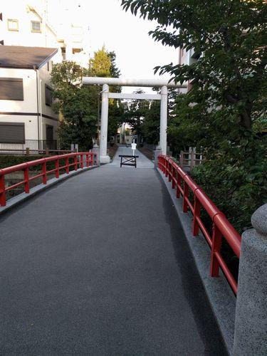 松戸散歩 松戸神社から江戸川