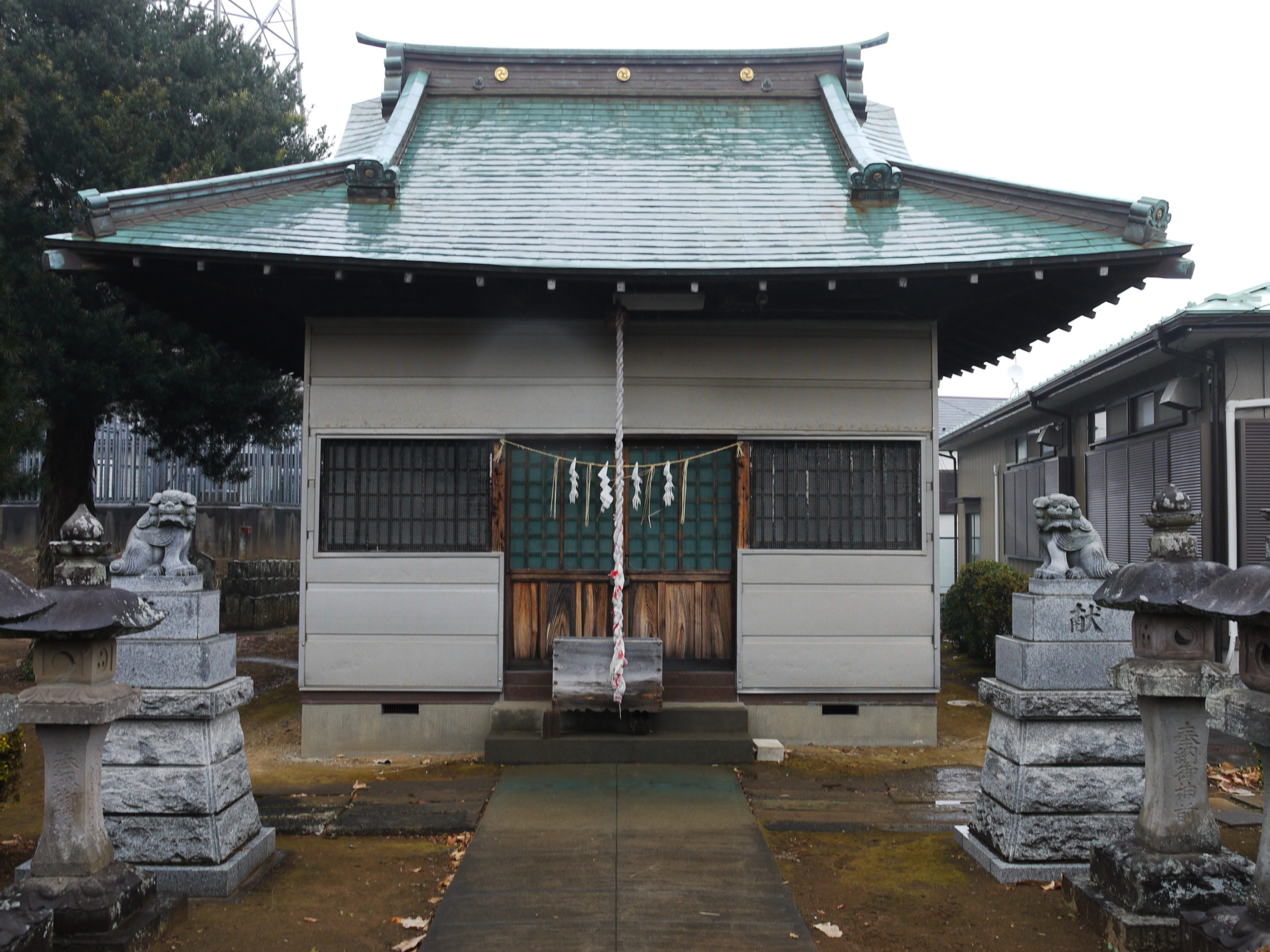 大谷口神明神社(松戸市)