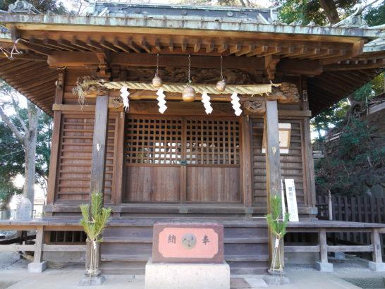 金山神社(松戸・根本)