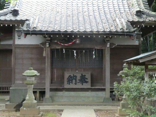 安房須神社(松戸市)