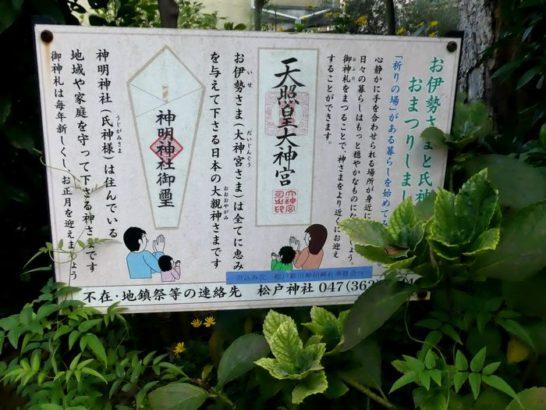 神明神社(松戸市松戸新田)