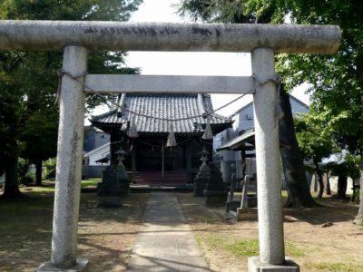 妙見神社(松戸市中根)