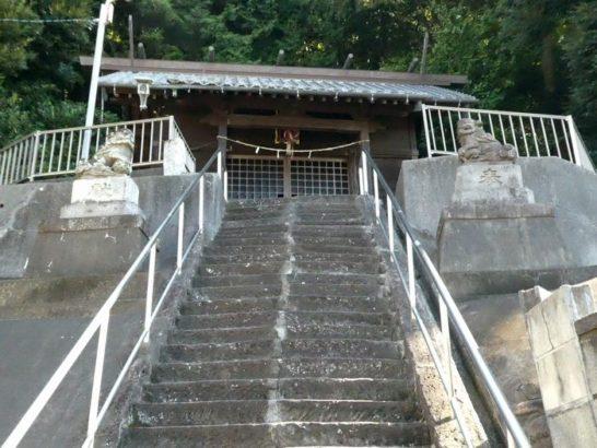 日枝神社(松戸市栗山)