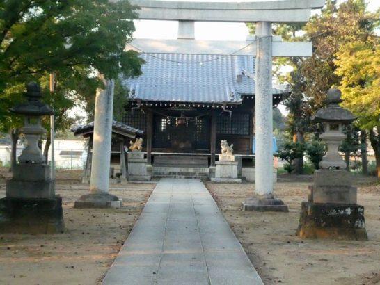 春日神社(松戸市南花島)