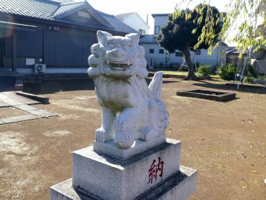 香取神社(松戸市中矢切)