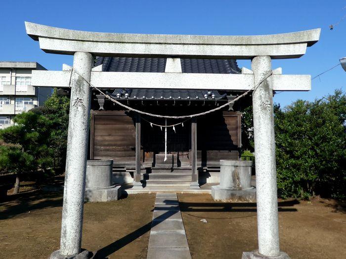川通稲荷神社(松戸市旭町)