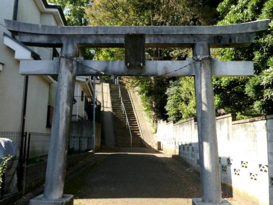 胡籙神社(松戸市大橋)