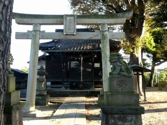 女体神社(松戸市樋野口)