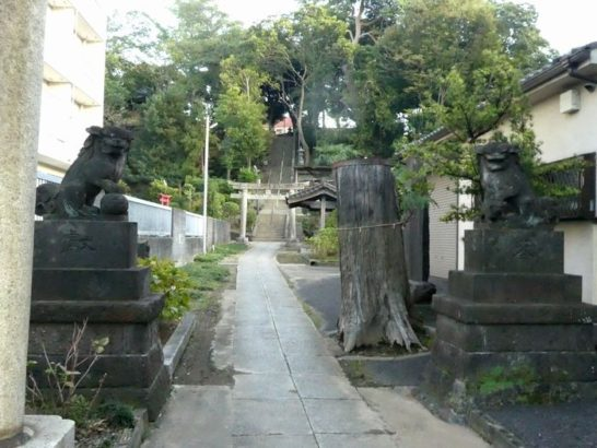 雷電神社(松戸市竹ケ花)