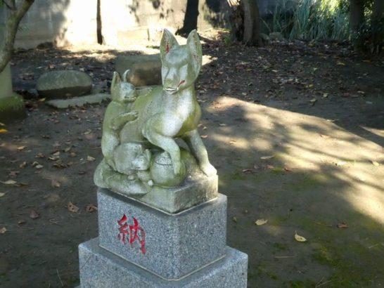 外河原稲荷神社(松戸市主水新田)